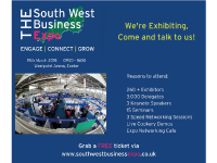 We are exhibiting at the South West Business Expo!